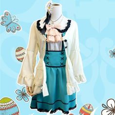 S/M/L [Love live] Minami Kotori [Easter Day] Cosplay Costume CP153870