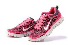premium selection c808e c2bbd ... clearance nike 6.0 free run kangaroo leather shoes pink white men women  60825 3ede2