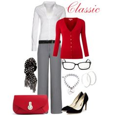 A fashion look from March 2013 featuring 3/4 sleeve cardigan, shirts & tops e suit pants. Browse and shop related looks.