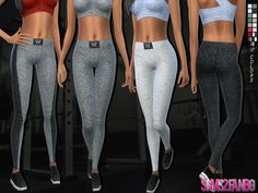 Athletic pants by sims2fanbg at TSR via Sims 4 Updates