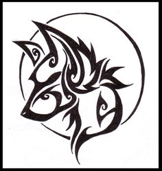 A Tribal sabertooth wolf tattoo. I got the inspiration from an X-men book I was reading. . There is a moon put into the neck for visual appeal. This tattoo design HAS BEEN SOLD! THANK YOU!!! If you...