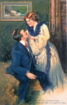 Victorian painting sappy vintage antique romantic art lovers vintage lovers sciox Gallery