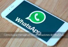 Cómo buscar mensajes en las conversaciones de WhatsApp para iPhone