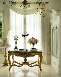 love the curtains and the window