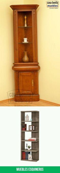 Las mejores imagenes de muebles esquineros Bookcase, Shelves, Home Decor, Tips, Modern Furniture, Home Decorations, Interiors, Shelving, Decoration Home