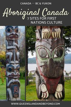 Aboriginal culture and history in Canada is fascinating. Here's my list of First Nations cultural sites in BC and the Yukon that I've found particularly interesting. 🌐 Queensland & Beyond Native American Quotes, Native American History, American Symbols, American Indians, Backpacking Canada, Canada Travel, Montreal With Kids, Arte Haida