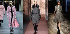 Παλτό και jacket με ζώνη (Cinched Outerwear) - Καταπλήκτικα παλτό και jackets με ζώνη έχουν να προτείνουν για φέτος όλοι οι μεγάλοι οίκοι μόδας! Με δημιουργίες που θυμίζουν παλαιότερες δεκαετίες δοσμένα με μοντέρνα στοιχεία και styling, πολυτελή υφάσματα και μοναδικές σιλουέτες, όλοι οι διάσημοι σχεδιαστές μόδας μας έδωσαν κάτι το όποιο θα ανυπομονούμε να φορέσουμε αυτόν τον χειμώνα!!! Miu Miu, Prada, Chanel, Gucci, D&G, Dsquared, Bottega Veneta, Belstaff, Burberry...