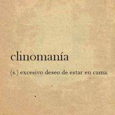 Clinomanía