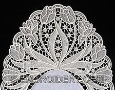 10511_fs-lace-doily-tulip350 (LU HERINGER - Latonagem) Tags: for pattern patterns patrones richelieu riscos repujado motivos cutwork whitewo...