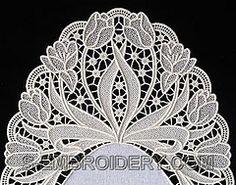 10511_fs-lace-doily-tulip350 (LU HERINGER - Latonagem) Tags: for pattern patterns patrones richelieu riscos repujado motivos cutwork whitewo...