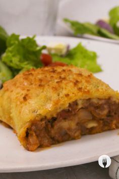 This is the CHEESIEST Mince Potato Roll-Up you'll ever have 😋😱😍