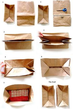 Paper Bag Pop Up Envelope