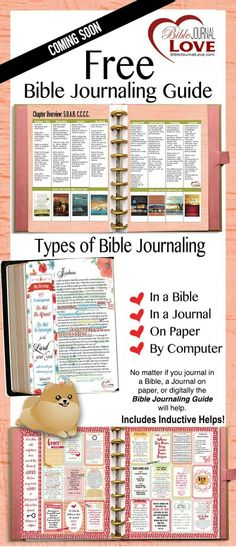 Free Bible Journaling Guide