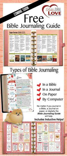 Free Bible Journaling Guide
