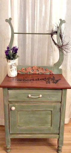 Upcycled Washstand - Reader Feature - The Graphics Fairy
