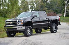 2014 Chevy Silverado Lifted Black | GPC Grabiak Performance Center's NEW 2014 Lifted Chevy Silverado Crew ...