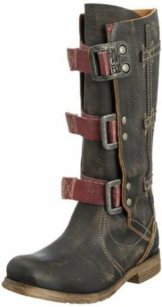 Fly London Women's These boots are awesome, though I doubt they are rattlesnake repellent Fly London Boots, London Shoes, Biker Boots, Combat Boots, Shoe Boots, Shoe Bag, Ladies Of London, Designer Boots, Hurley