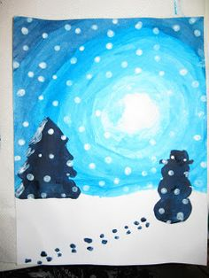 Terri's Teaching Treasures: Winter Wonderland Art