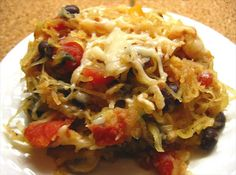 Southwest Spaghetti Squash - not a big cilantro fan, so I leave that out. I like it spicy and throw in some extra chili powder and a can of diced green chiles