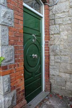 Timber Doors Green front door