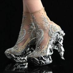 Alexander McQueen #shoes #heels