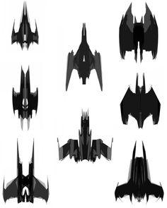 Batwing Concepts from Batman: Arkham Origins