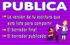 Writing Process Poster 6 Spanish version