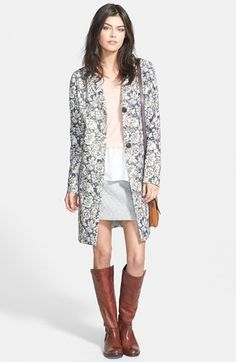 Hinge  Floral Print Jacket available at #Nordstrom Anniversary NEED this!!! 85