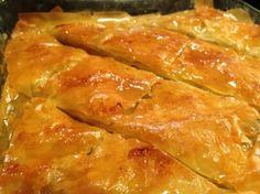 Baklava (Greek walnut, pistachio and syrup cake)