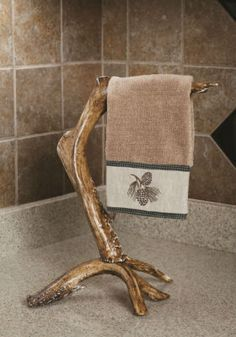 | Antlers, Camo and Camo Bathroom