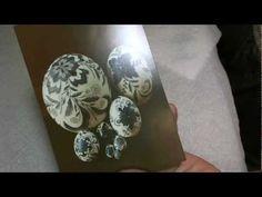 Master Pysanky Artist, Lorrie PoPow, tutorial on doing batik eggs.