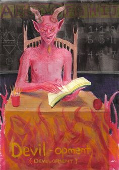 The Devil in the Details – An Artists Journey To Life: Day 670 A Day In Life, Devil, Freedom, About Me Blog, Spirituality, Journey, Artists, Artwork, Painting