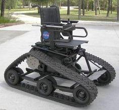 Track Drive Power Wheelchair