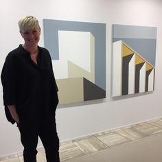 Title: «Exit I og II» acrylic on canvas- 100 x120 cm Paintings, Canvas, Home Decor, Art, Tela, Art Background, Decoration Home, Paint, Room Decor