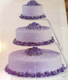 Wilton Floating Tiers Cake Stand | eBay