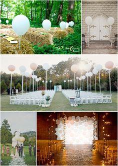 ballon cérémonie mariage
