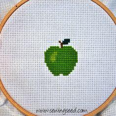 Sewingseed: Cross Stitch Tutorial
