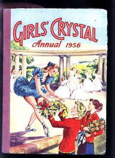 GIRLS CRYSTAL annual 1956 front