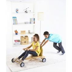 DIY Wood Go Cart -   - Teach your child assembly basics while building a toy they can ride - Empower your child's creativity - Requires sawing, drilling and filing - Tools not included