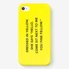 """Bust a Move"" - MUST HAVE!!! iPhone 5 Cell Phone Case Kate Spade Saturday Spring 2013 Lookbook"