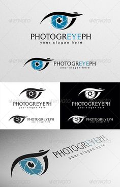 Photograph Logo - Objects Logo Templates