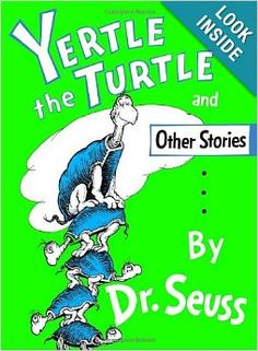 Yertle the Turtle and Other Stories: Dr. Seuss: 9780394800875: Amazon.com: Books