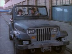 """MacGyver 1987 Jeep Wrangler [YJ] This is how you build a Jeep. Add lights. Add a winch. Jeep can now go anywhere and do anything and rescue douchebags that thought their 38"""" tires and factory gears were the ticket to invincibility... Coincidentally, it's MacGyver's Jeep..."""