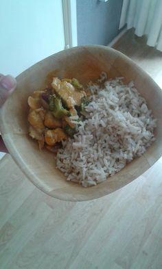 Curry met rijst