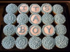 How To: Baby Shower Cupcake Cake by SweetpeaMango