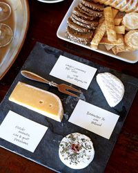 sparkling wine & cheese party