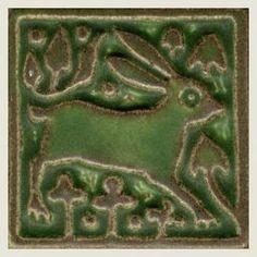 Motawi Tile 3x3 Rabbit