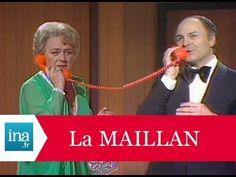 """Jacqueline Maillan et Michel Roux """"A l'hôtel de Las Vegas"""" - Archive INA"""