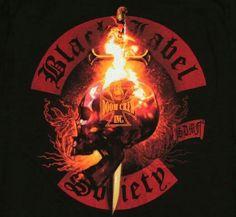 . Pride And Glory, Knuckle Tattoos, Black Label Society, Zakk Wylde, Skull Shirts, Heavy Metal Bands, Rock Posters, Alternative Music, Black Sabbath