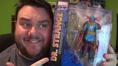 Dr Strange Marvel Select Special Collectors Edition Action Figure Unboxi...